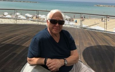 His cardiac event over the Atlantic Ocean has given retired Sandy Springs pulmonologist Paul Scheinberg extra time in Israel. (Photo courtesy of Paul Scheinberg)