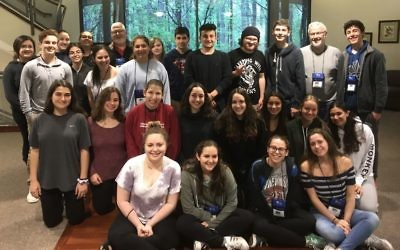 The two dozen students participating in the first Teen Israel Leadership Institute come from nine states and Israel.