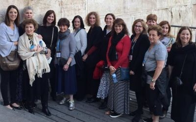 A group from the Jewish Women's Fund of Atlanta tours Israel.