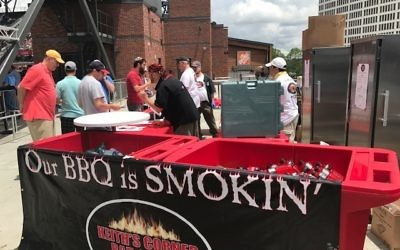 Keith's Corner BBQ again will be selling food at Kosher Day at SunTrust Park on May 6.
