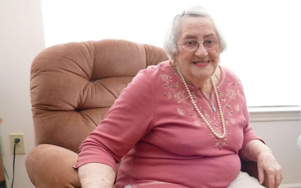 Helen Weingarten is a familiar friendly face at Hammond Glen in Sandy Springs.