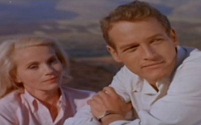 "Eva Marie Saint and Paul Newman star in the ultimate Israeli independence film, ""Exodus."" (YouTube screen grab)"