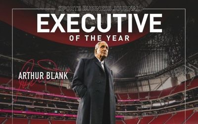Arthur Blank is SportsJournal's 2018 Sports Executive of the Year. (Atlanta Falcons tweet)