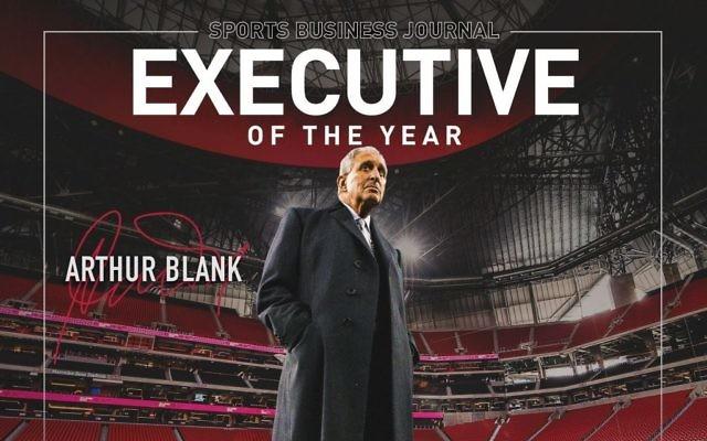 Arthur Blank is SportsJournal's 2018 Sports Executive of the Year. (Atlanta Falcons tweet)