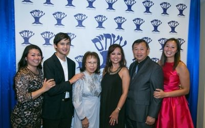 The Quan family helps Congregation Etz Chaim celebrate its annual gala.
