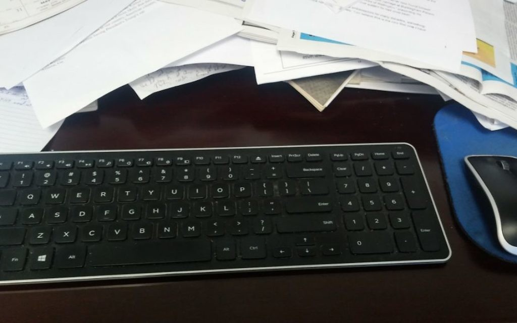 A keyboard. a mouse, a pile of paperwork and a desk aren't always fulfilling.