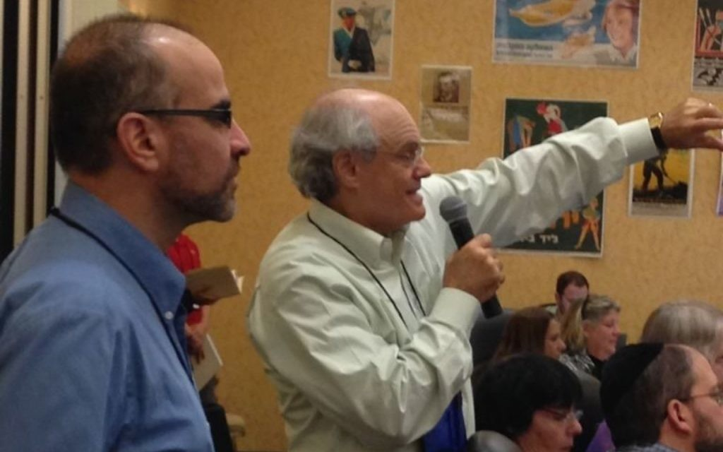 People who don't attend the CIE workshop can watch Ken Stein, shown with Rich Walter at the 2015 workshop, and others live on Facebook from June 24 to 28.