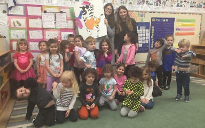Lior Bar and Or Shaham spent a lot of time teaching children of all ages the history and geography of Israel.