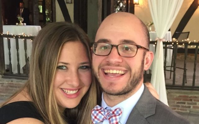 Newlyweds Rachel Goffman and Ross Kressel