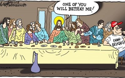Cartoon by Bob Englehart, Middletown, Conn.
