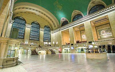 Grand Central Station, a New York City landmark.