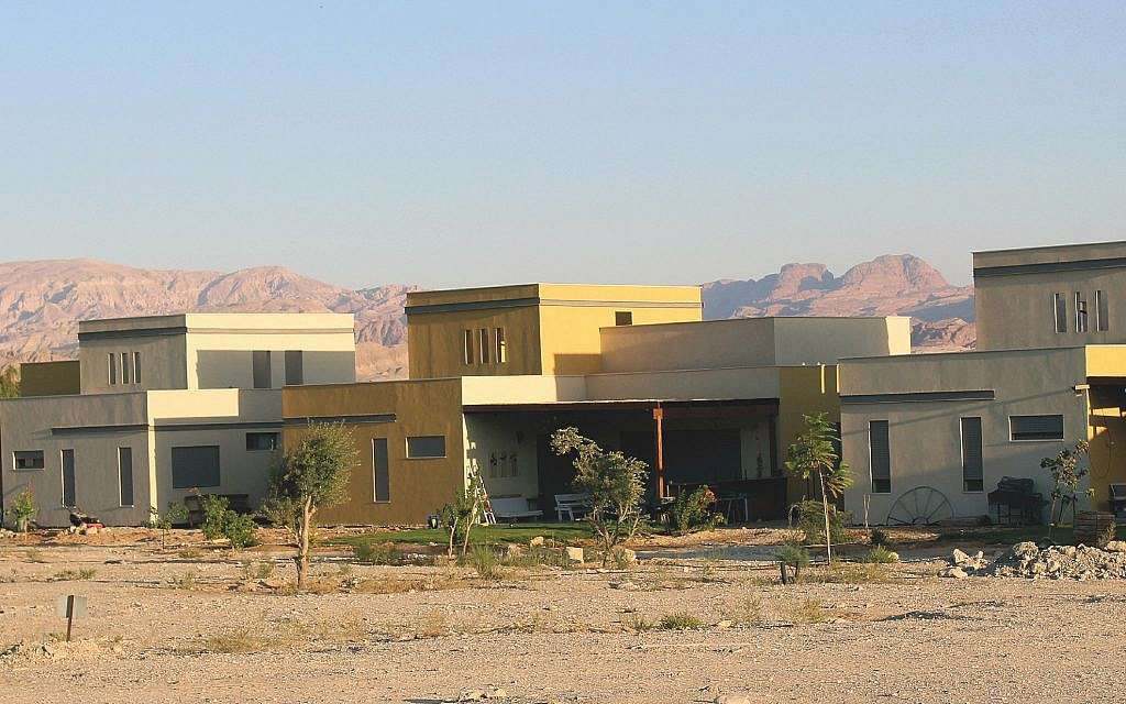 A unit of homes has been built in the Arava which provides Israelis a higher quality of living at a lower cost.
