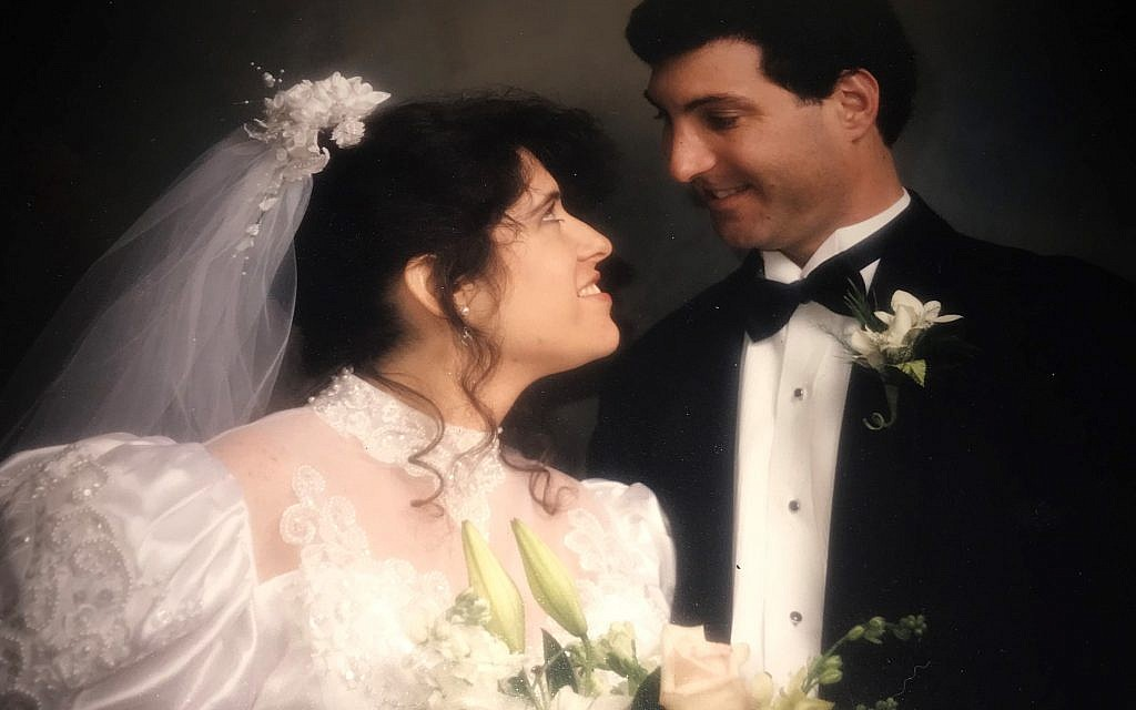 Roni and Ian Robbins were married after meeting through an AJT personal ad placed in 1992.