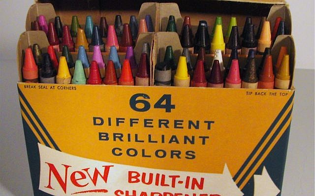 Whoever had the biggest box of crayons was the coolest at school.