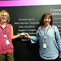 Rina Wolfe and Roslyn Konter founded Angels 4 Angels in memory of friends who passed away from breast cancer.