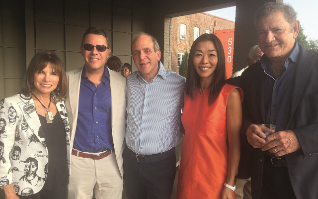 From left: Cathy Selig, honoree Kenny Blank, Stan Cohen, Julia Chi and Steve Kuranoff came out to celebrate.