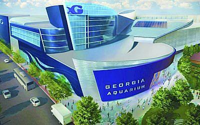 Rendering of the Georgia Aquarium