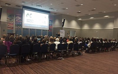 About 100 women gathered for the Jewish Women's Fund of Atlanta event on Aug. 29 at Congregation B'nai Torah.