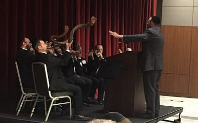 The Kollel rabbis always do an upbeat skit. This year's Atlanta Shofar Orchestra did not disappoint.