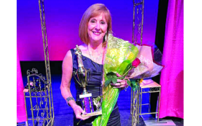 Denise Rindsberg was second-runner up at the Ms. Senior Georgia Pageant.
