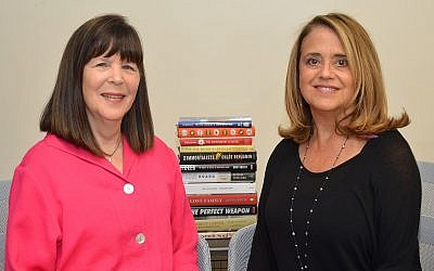 Book Festival co-chairs Bea Grossman and Susie Hyman.