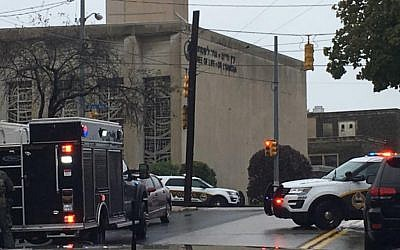 Shabbat morning horror at the Tree of Life synagogue in the heavily-Jewish Squirrel Hill neighborhood of Pittsburgh.