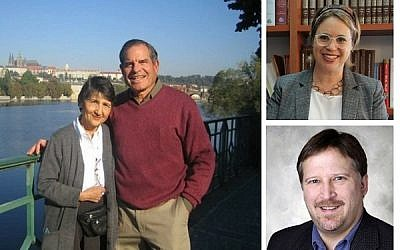 Richard and Phyllis Franco (left) will receive the second annual Tzedek Award this year.  Shira Ben-Sasson Furstenberg, (top) associate director of the NIF in Israel will speak in conversation with Dr. Paul Root Wolpe, (bottom) director of the Emory Center for Ethics.