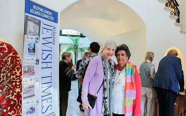 Attendees Carol Breman Nemo and Flora Rosefsky