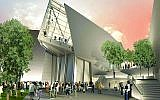 A rendering of the Liberators Pavilion at The National WWII Museum in New Orleans, La.