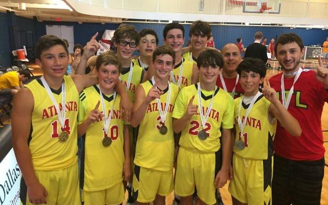 In 2015, Atlanta's Boys 14U basketball team won gold in the JCC Maccabi Games in Dallas