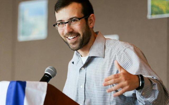 Congregation Shearith Israel's Rabbi Ari Kaiman.