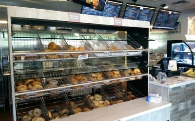 Step inside Bagel Boys and you'll be greeted by racks and racks of bagels ripe for the picking.