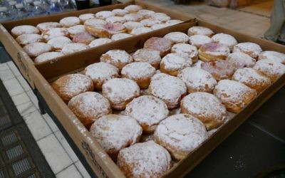 For the second consecutive year, the Spicy Peach is shipping in a truckload full of authentic sufganiyot from Israel.