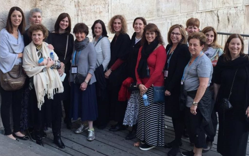 Executive Director Rachel Wasserman and trustees of the Jewish Women's Fund of Atlanta visit Israel.