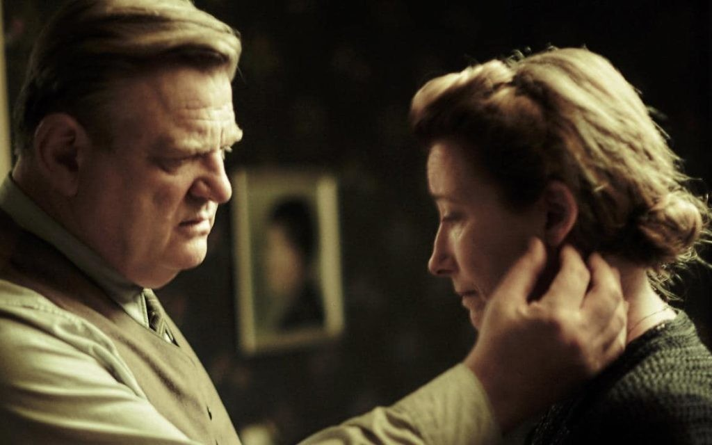"""Alone in Berlin"" stars Brendan Gleeson and Emma Thompson."