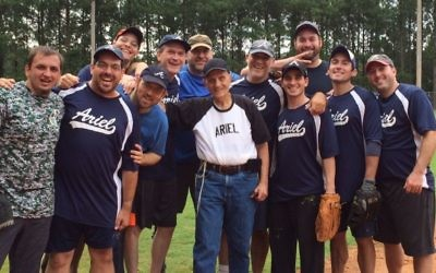 Ariel won two games Aug. 3 to take the top spot in the B division.