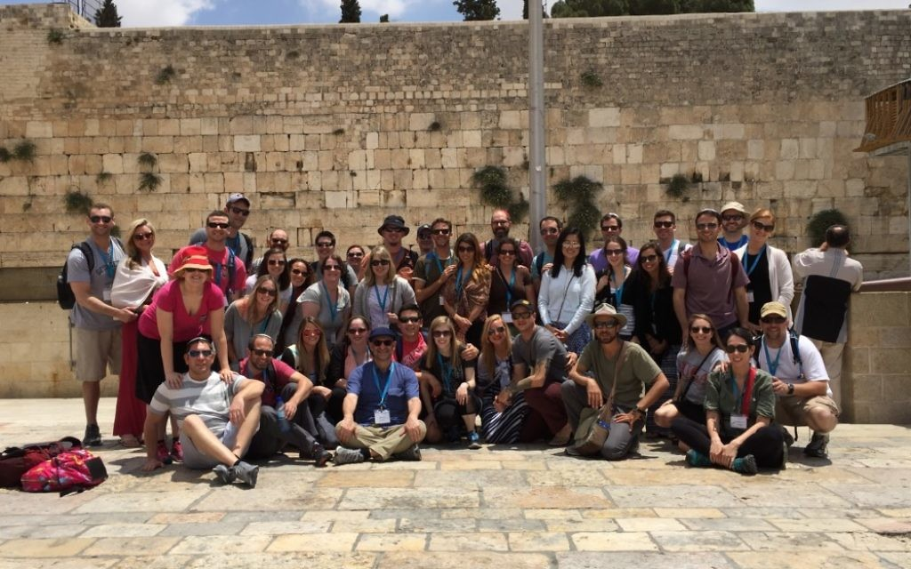 How many of these Honeymoon Israel visitors would feel welcome under the June 25 decision about the Kotel?