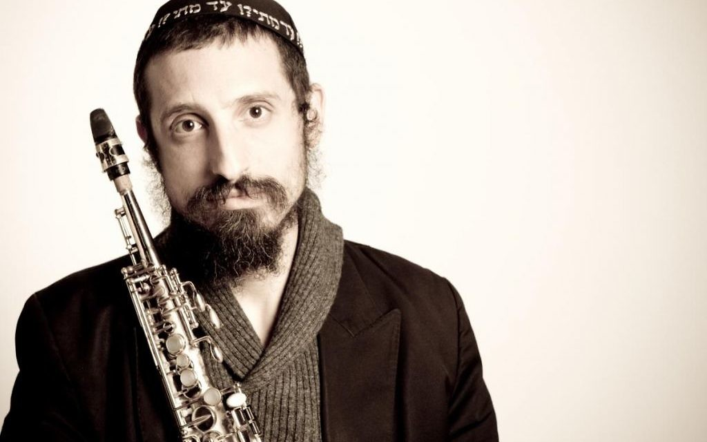 Saxophonist Daniel Zamir brings Hasidic-inspired jazz to the Marcus JCC on Feb. 19.