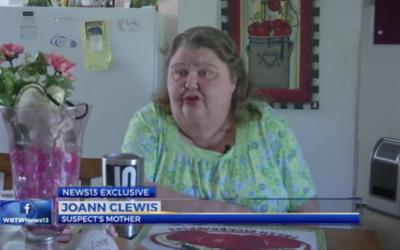 Joann Clewis speaks to WBTW-TV in Myrtle Beach, S.C.