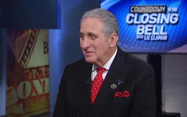 Arthur Blank appears Feb. 1 on Fox Business News. (screen grab from video)