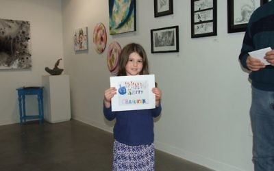 Yaffa Antopolsky offers colorful creativity in her runner-up drawing for the 7-to-9 age group.