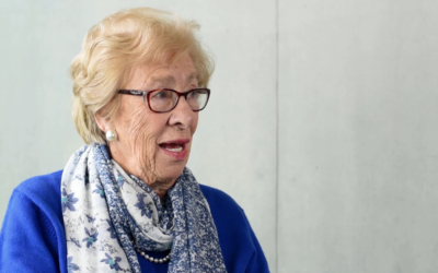 "Eva Schloss speaks to ""The Update"" in January 2016."
