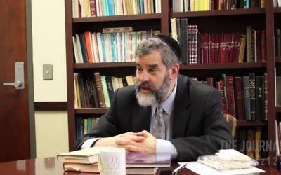Rabbi Ilan Feldman isn't above a bit of smack talk against the Patriots and JPULSE.