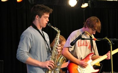 The AJMF8 Teen Battle of the Bands provides an opportunity for high-schoolers to rock out.