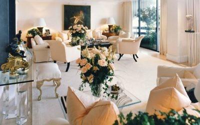 Stan Topol designed this room in Elton John's Atlanta Home