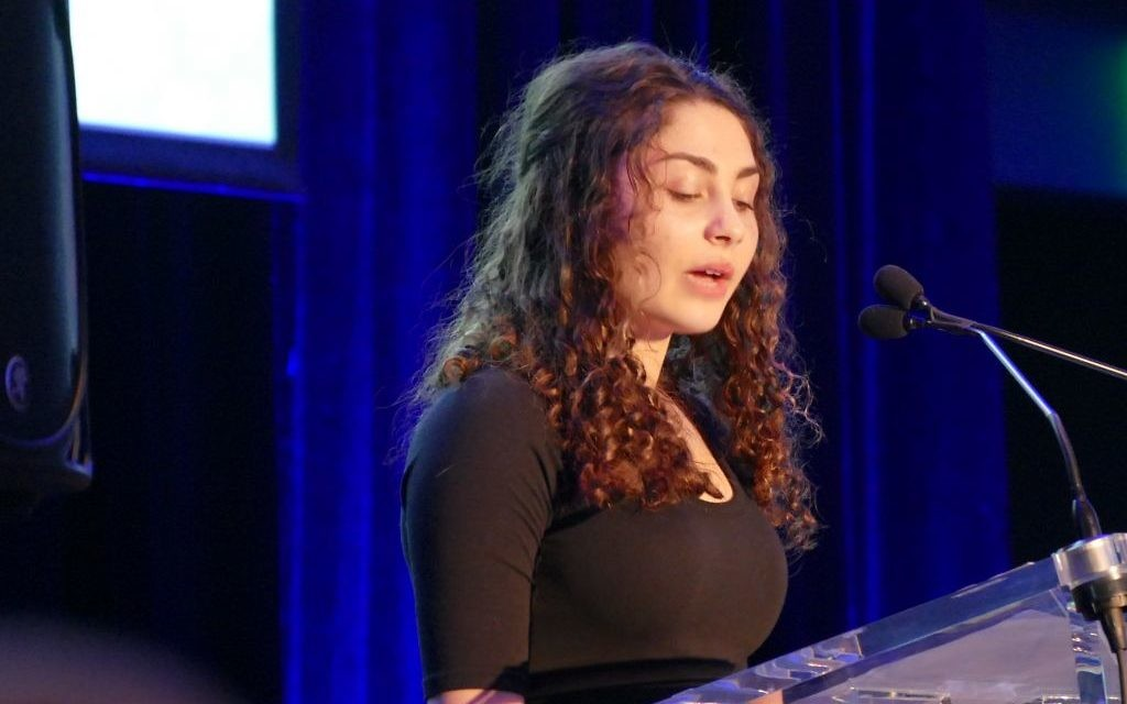 During the MACoM gala March 16, Aliza Abusch-Magder speaks of her mikvah experience.