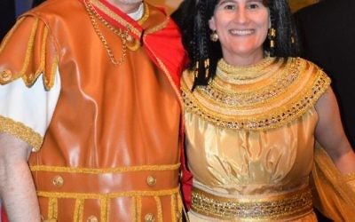 Rabbi Pamela Gottfried and her husband, David