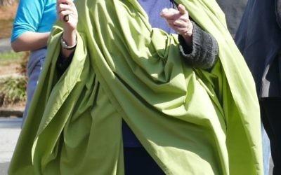 Chana Shapiro brings a vision of Lady Liberty to LaVista.