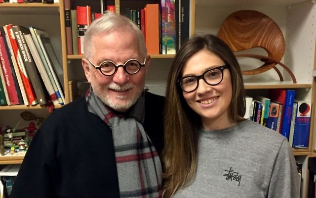 Cydney Schwartz is striving to honor the legacy of the wife of Hank Richardson, her professor at the Portfolio Center.