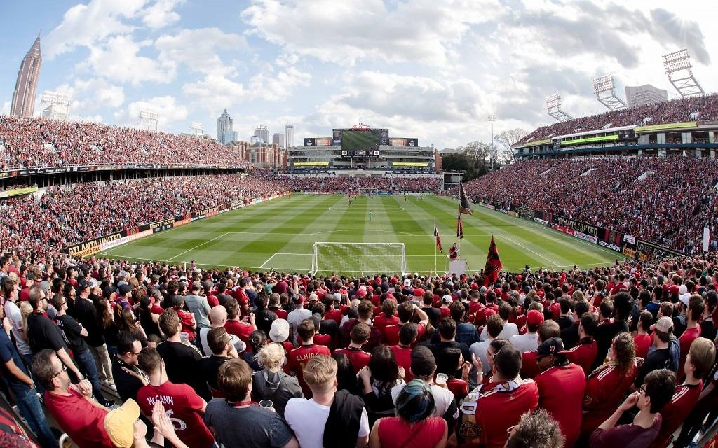 Atlanta United's home match with the Chicago Fire on March 18 was the second sellout of the 2017 season.